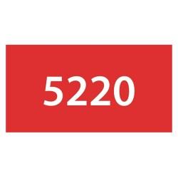 PENNARELLO DB-TWIN 5220/3pz VERMIGLIONE