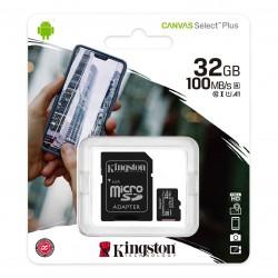 MICROSD 32GB KINGSTON 100MB/S
