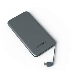 Groovy POWER BANK PER ANDROID 4000MHA 2PZ