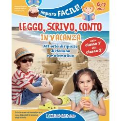 GIUNTI  LIBRO IMPARA FACILE LEGGO,SCRIVO,CONTO