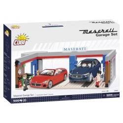 COBI MASERATI GARAGE 24568 500PCS