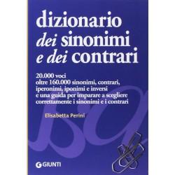Giunti Dizionario Sinonimi & Contrari