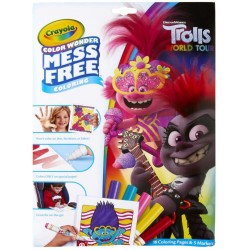 CRAYOLA ALBUM DA COLORARE TROLLS  4.90