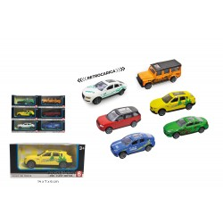 Dal Negro Auto 1:43 Expo 24pz retrocarica racing car