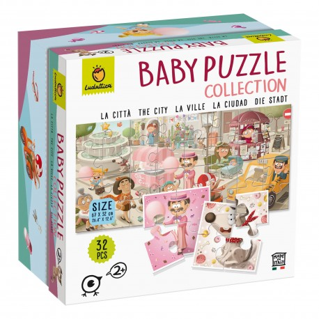 Ludattica Baby Puzzle collect The City