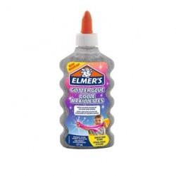 ELMER'S COLLA GLITTER 177ml ARGENTO