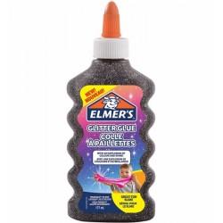 ELMER'S COLLA GLITTER 177ml NERO