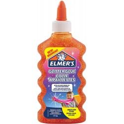 ELMER'S COLLA GLITTER 177ml ARANCIO