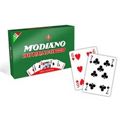 Carte da gioco Burraco Modiano Torneo plastica 100%