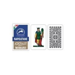 CARTE DA GIOCO NAPOLET MODIANO 150-400gr 14pz marrone