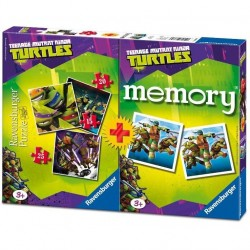 Puzzle Memory Ravensburger 3+1 Turtles