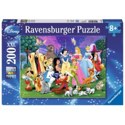 Puzzle Ravensburger  200 I miei preferiti Disney
