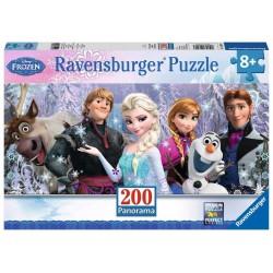 Puzzle Ravensburger  200 Frozen Panorama
