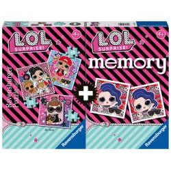Puzzle Memory Ravensburger 3+1 LOL