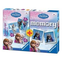 Puzzle Memory Ravensburger 3+1 Frozen Disney
