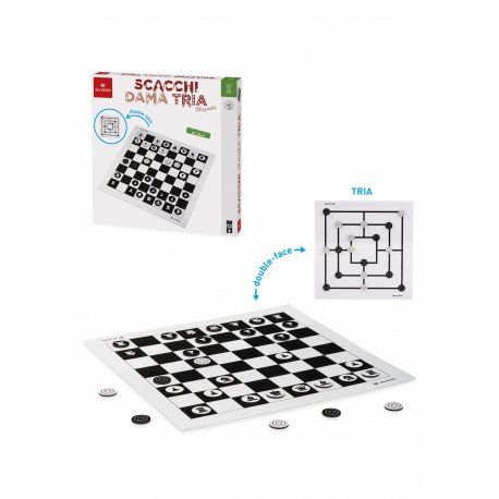 Dal Negro scacchi dama tria magnetico