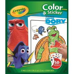 Crayola Dory Maxi Album Dory Disney Pixar PVP3.90