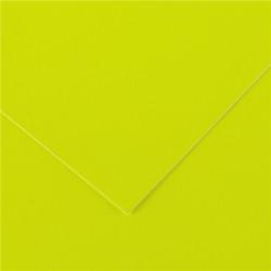 Cartoncino fluo Canson 50x65 250gr 25fg giallo
