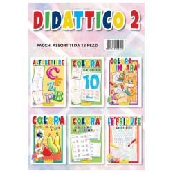 Hedison 12 Libri da Colorare assortimento Didattica 2