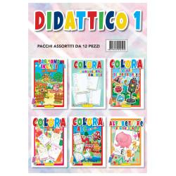 Hedison 12 Libri da Colorare assortimento Didattica 1