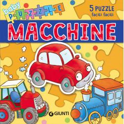 Giunti Libro Baby Puzzle Le Macchine