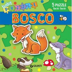 Giunti Libro Baby Puzzle Il Bosco