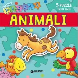 Giunti Libro Baby Puzzle Gli Animali