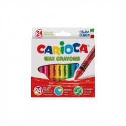 Pastelli CERA CARIOCA 24c/6pz