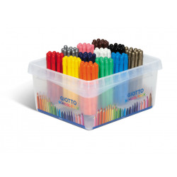 Pastelli Giotto CERA STRONG SCHOOLPACK 144