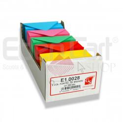 Biglietti Opalina Formato 7 Colori Forti 250p