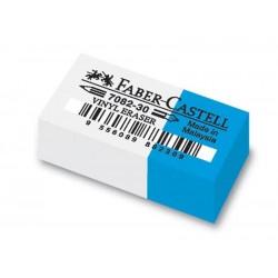 Gomme Faber bianca blu 188230 cf 30 pz piccola